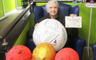 St Winifreds Care Home hosts Chair Sports Day