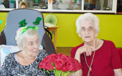 St Patricks Day fun and games at St Winifreds Care Home