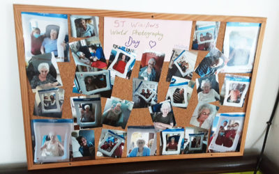 Celebrating the selfie at St Winifreds Care Home