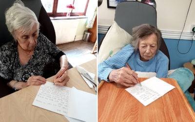 Keeping in touch at St Winifreds Care Home