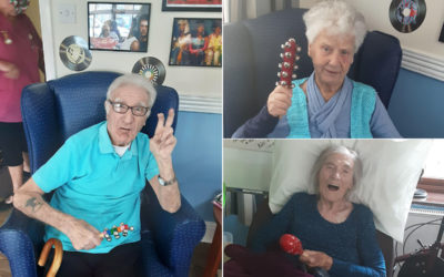 Music for Health morning at St Winifreds Care Home