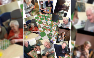 Snakes and ladders at St Winifreds Residential Care Home