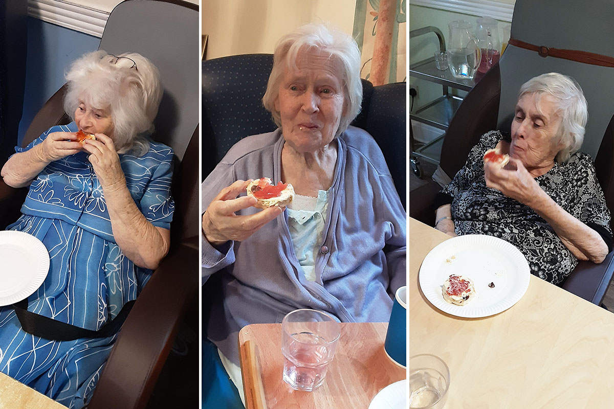 From scones to sing alongs at St Winifreds Care Home