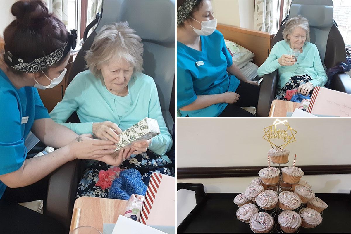 Happy birthday Beryl at St Winifreds Care Home