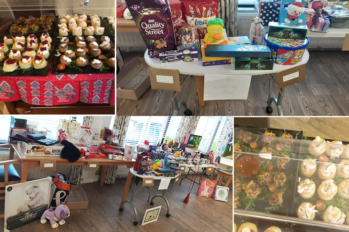 Christmas party time at St Winifreds Care Home