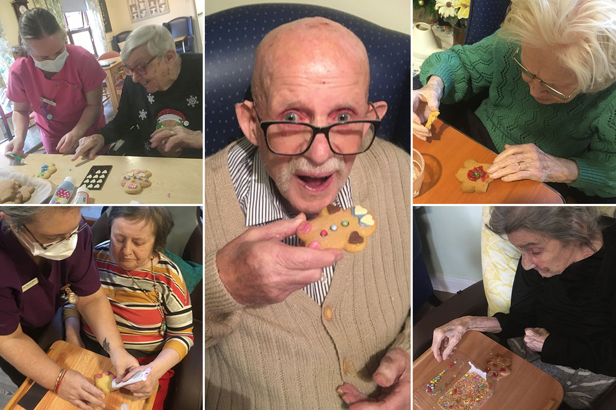 A cracking Christmas at St Winifreds Care Home