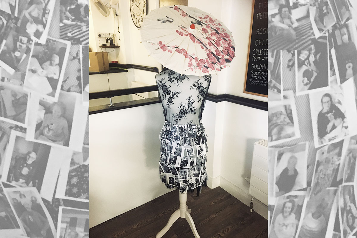 Memorable mannequin at St Winifreds Care Home