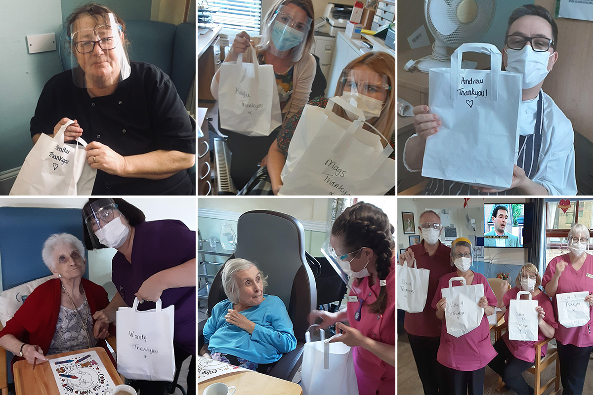 Random Acts of Kindness Day at St Winifreds Care Home