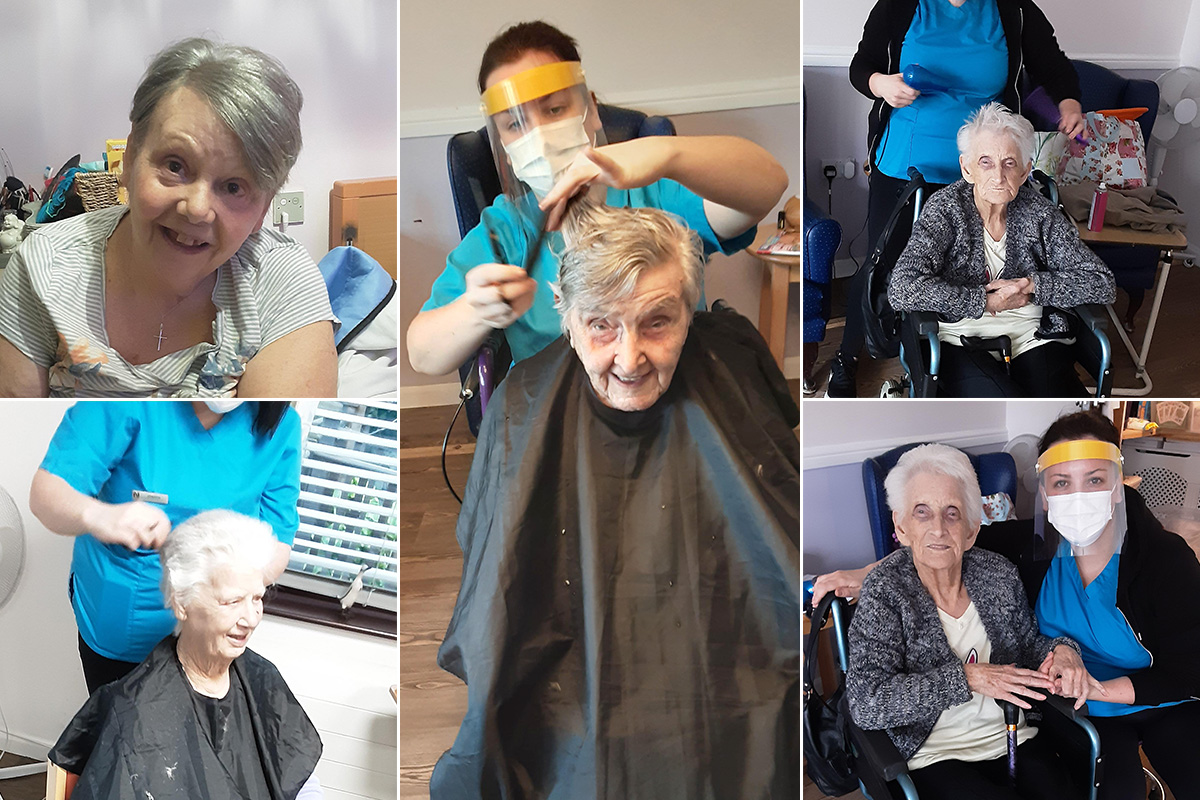 Pampering and passports at St Winifreds Care Home