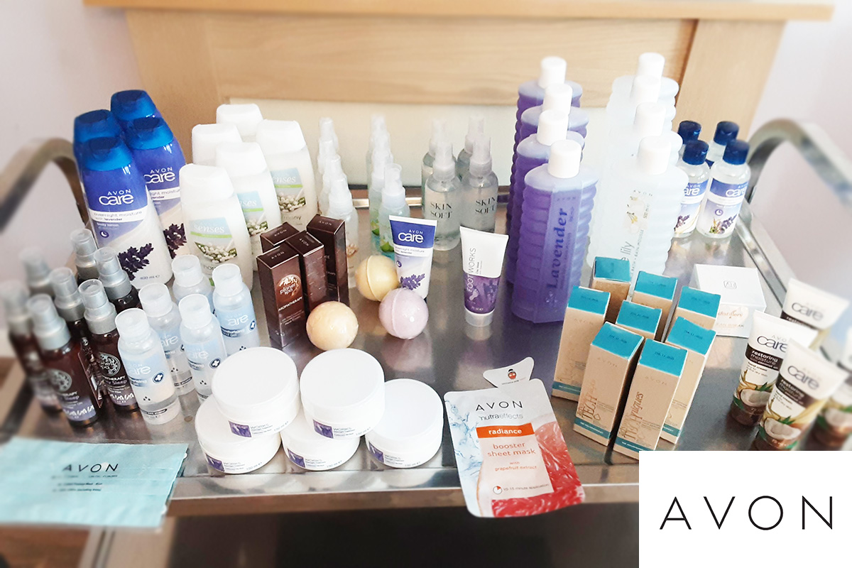 Pamper gift donation for staff at St Winifreds Care Home