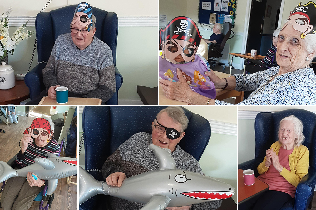 St Winifreds Residential Care Home residents enjoy a Pirate Panto