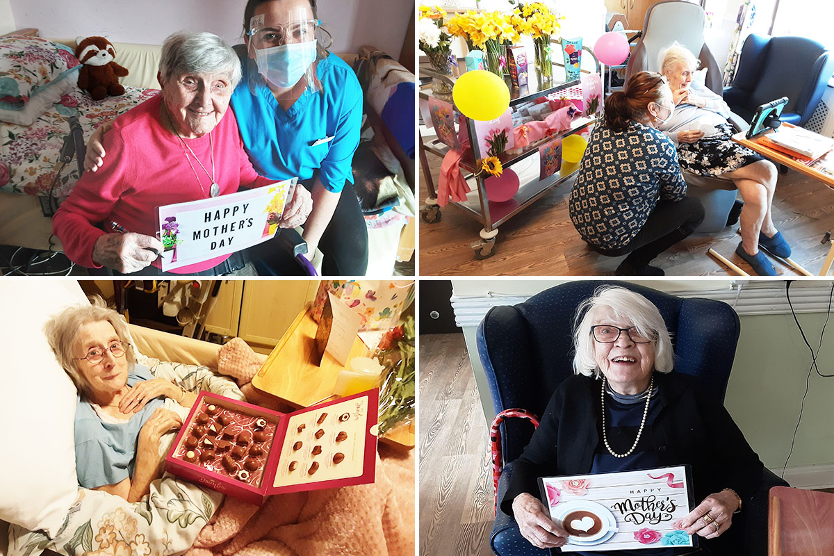 Mothers Day celebrations and a Bingo afternoon at St Winifreds Care Home