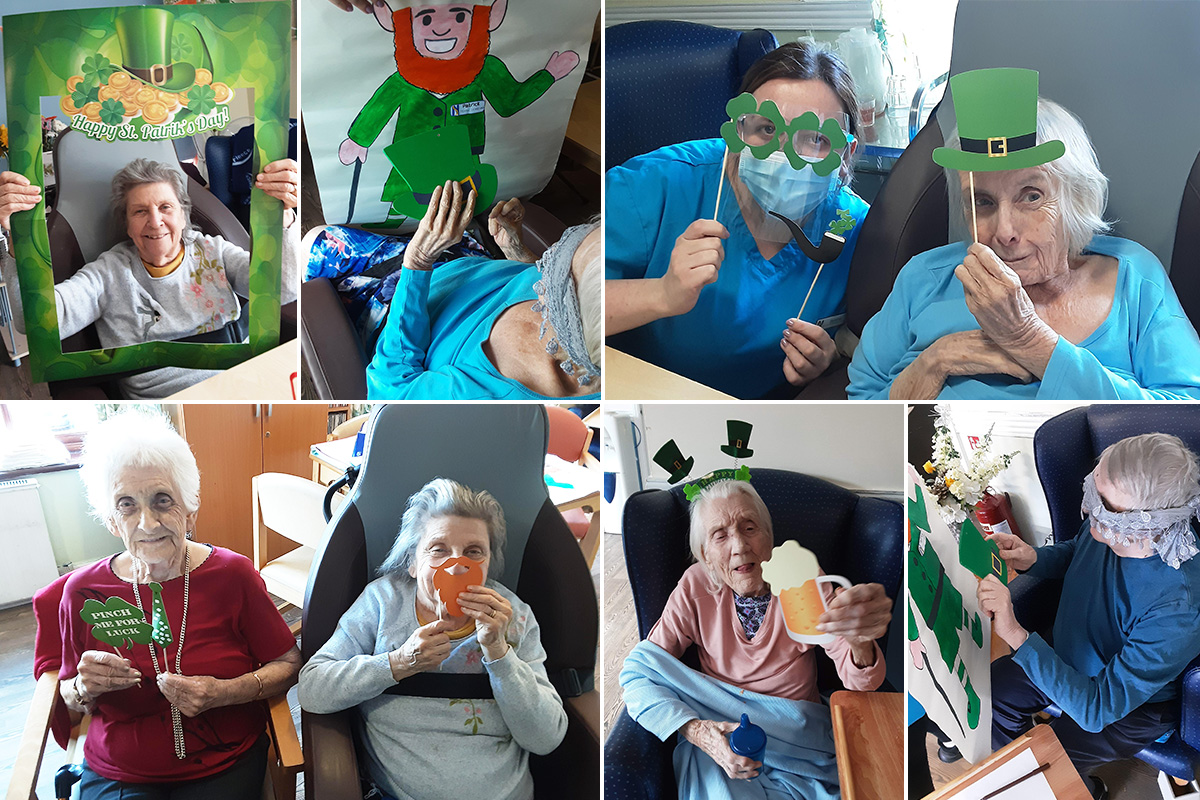 St Patricks Day Coffee Morning at St Winifreds Care Home
