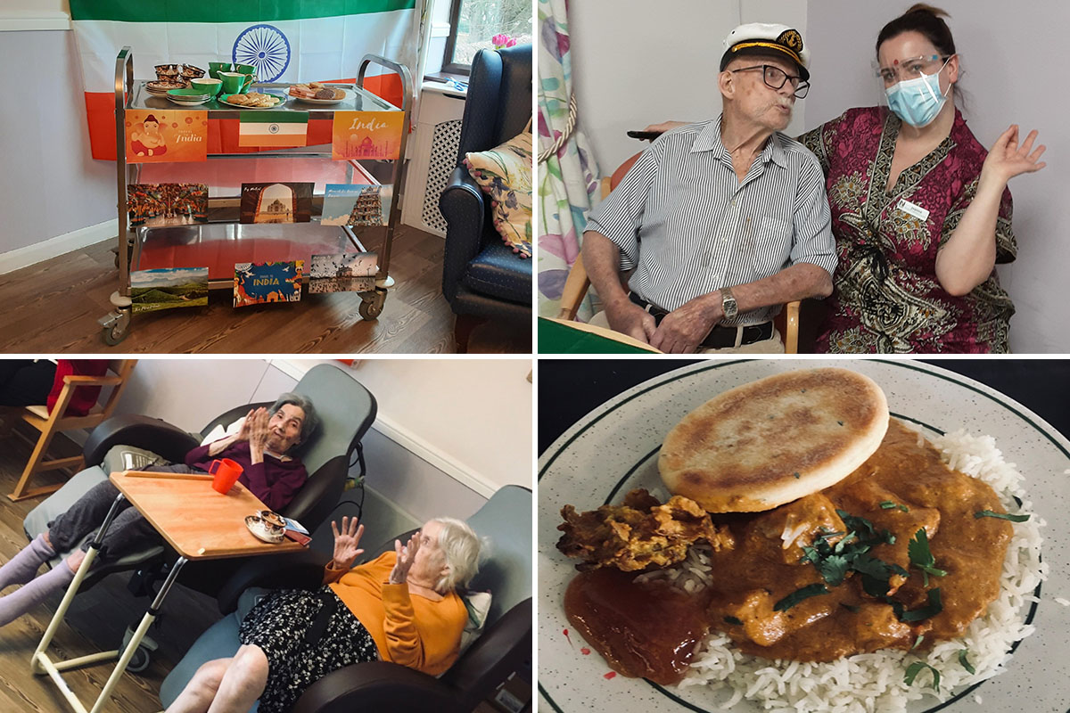 St Winifreds Care Home residents travel to India