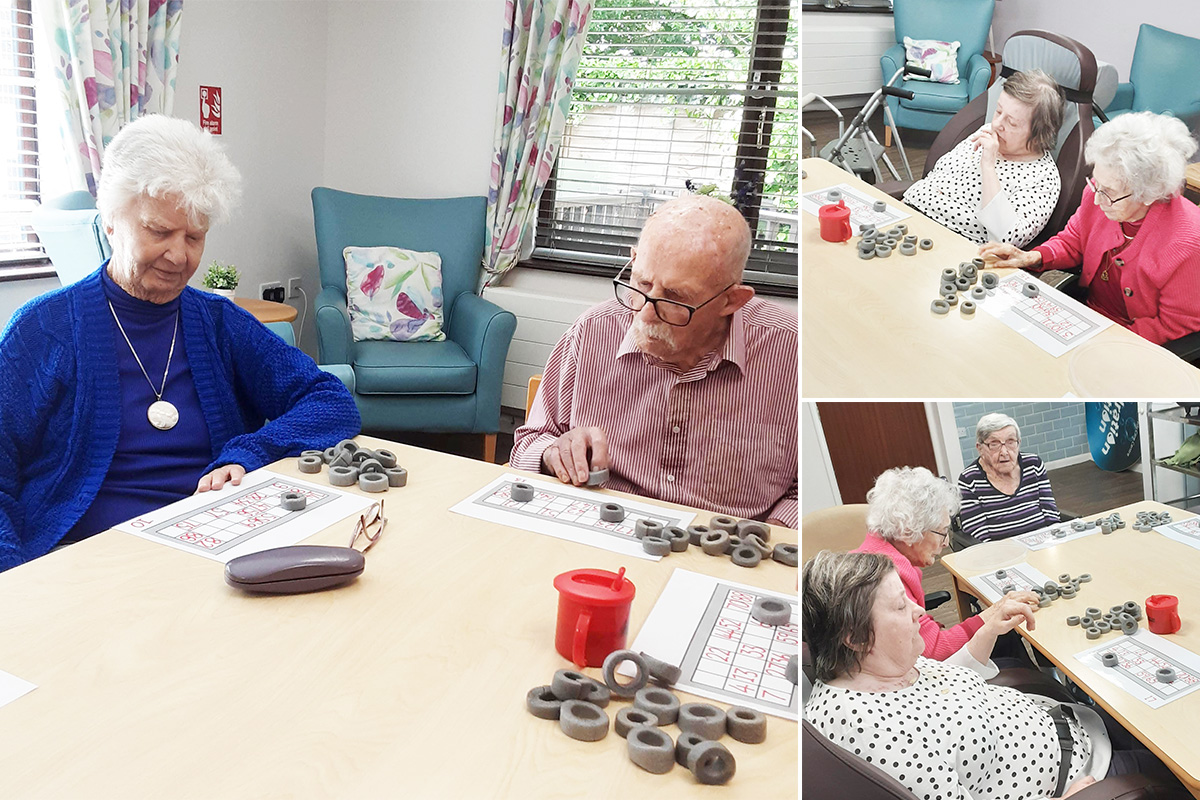 Bingo afternoon at St Winifreds Care Home