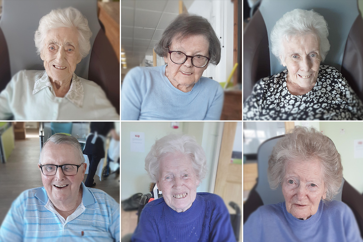 Hairdressing heaven at St Winifreds Care Home