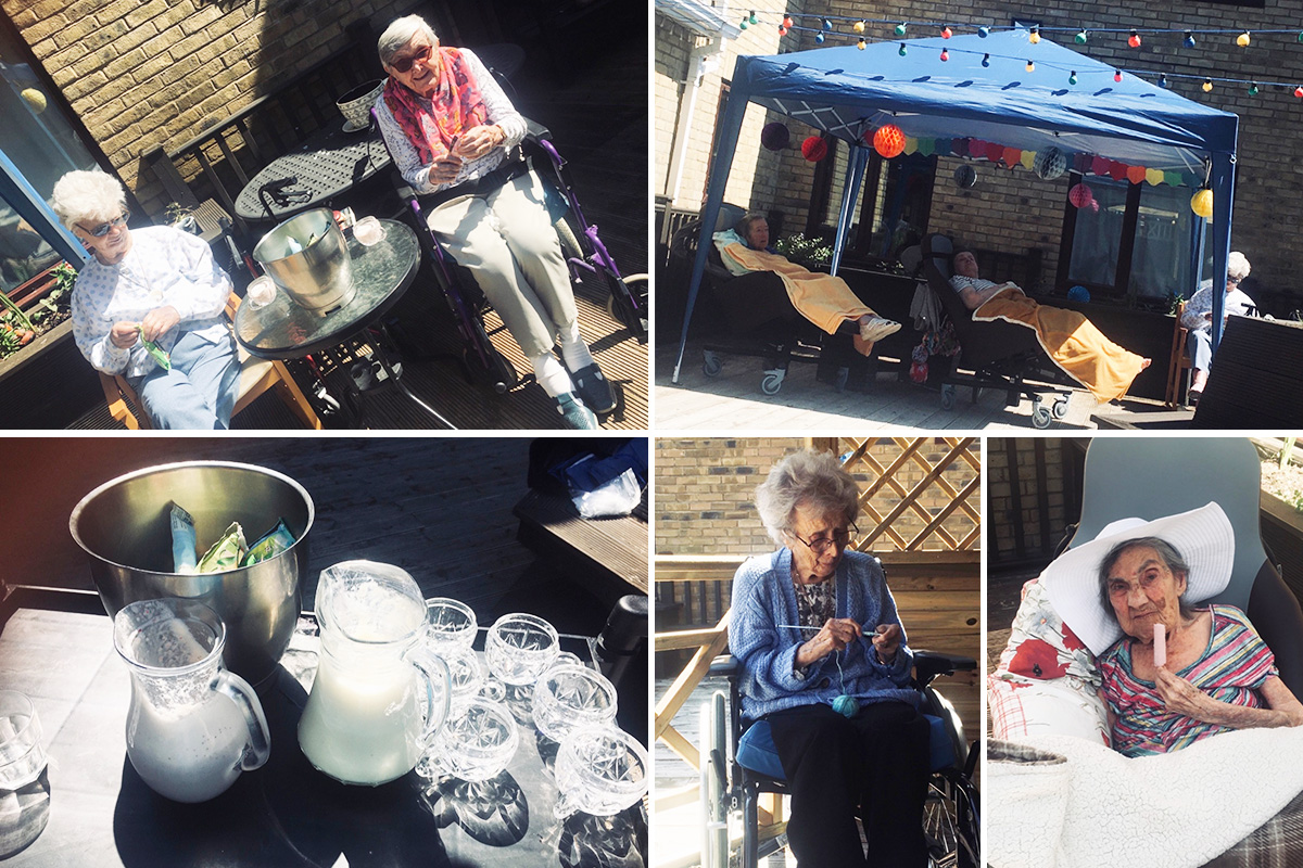 Bank holiday weekend fun at St Winifreds Care Home