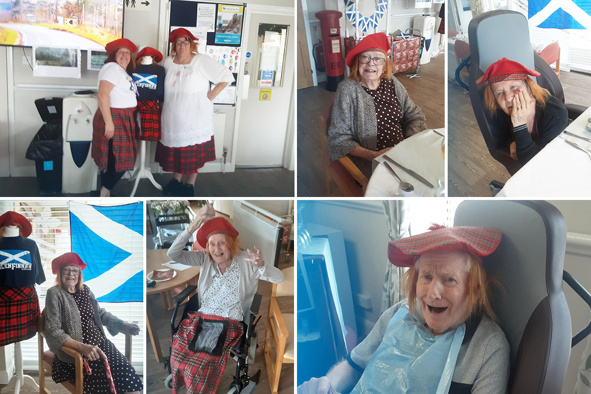 St Winifreds Care Home residents visit Bonnie Scotland